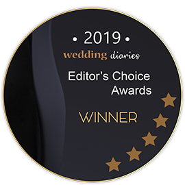 2019 Wedding diaries Editor's Choice Awards Winner